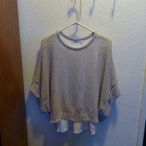 ZARA Knit Top Size MEDIUM