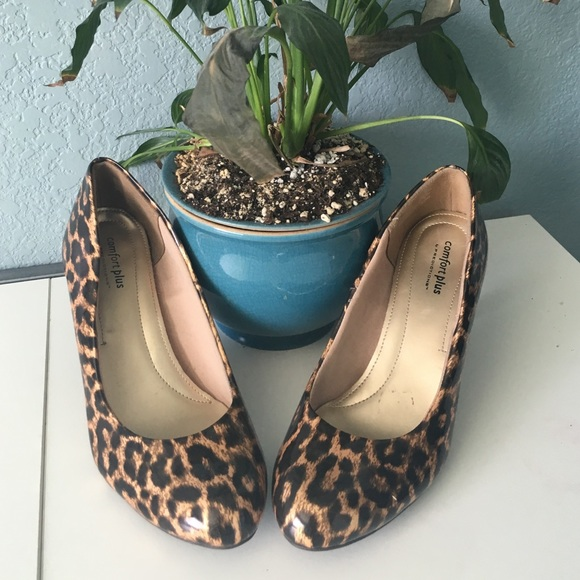 Comfort Plus by Predictions Shoes - 🎉HP🎉Animal Print Heels
