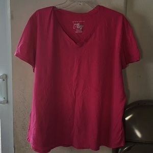 edacf6c41f64a Just My Size Tops - Plus size Hot pink Just my Size tee