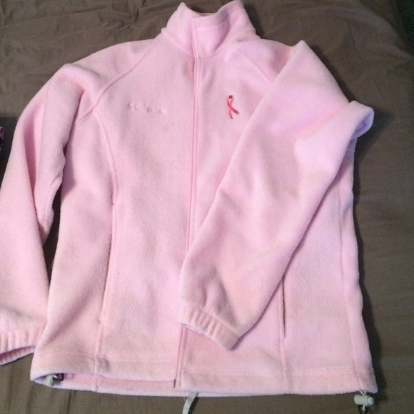 69919d6c5 Columbia Breast Cancer Awareness Fleece Jacket