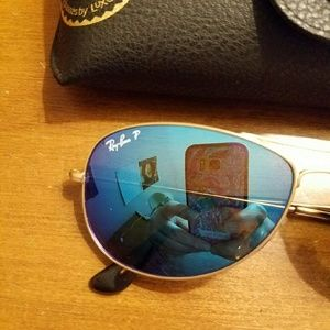 2a9176f84f1 Ray-Ban Accessories - Ray-Ban Authentic 3562 Aviator Polarized Sunglasse