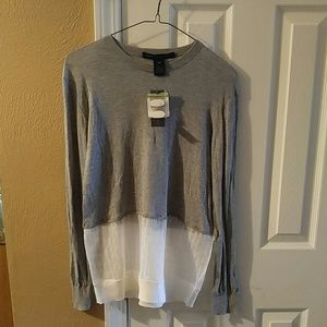 Marc Jacobs Pavilion combo sweater Frost Grey