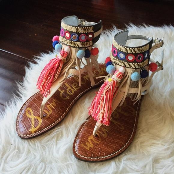 2871e6042dfb Sam Edelman Gere Leather Sandals