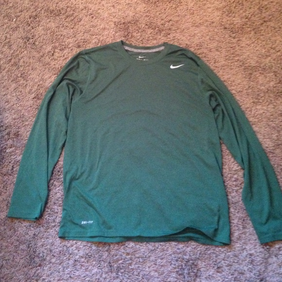 be162800017e2 Men's Nike Hunter Green Dri Fit