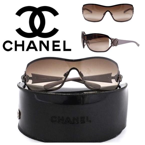 42bb27cf0d CHANEL Accessories - CHANEL 4164B Brown Lavender Sunglasses