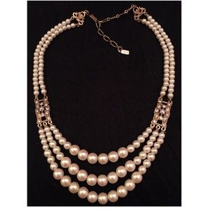 1928 Jewelry - 1928 Pearl Bridal Necklace