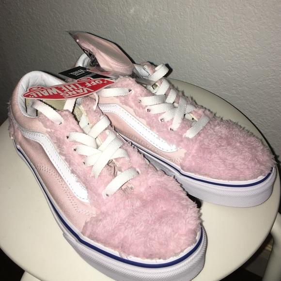 pink fuzzy vans \u003e Clearance shop