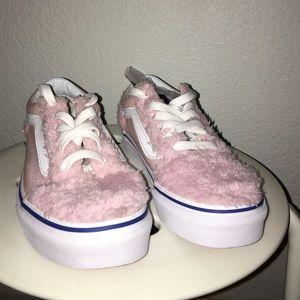 6c5bc00b54fc Vans Shoes - PINK FURRY VANS
