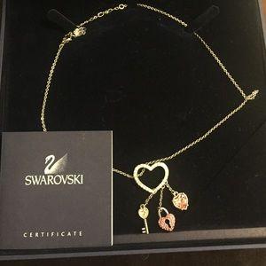 Swarovski key to my heart necklace! OBO