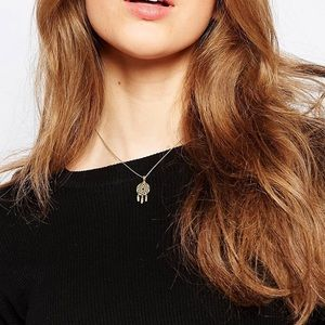 ASOS Jewelry - Orelia Dreamcatcher Pendant Necklace