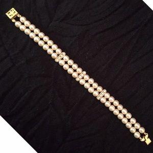 1928 Jewelry - 1928 Pearl Bridal Bracelet