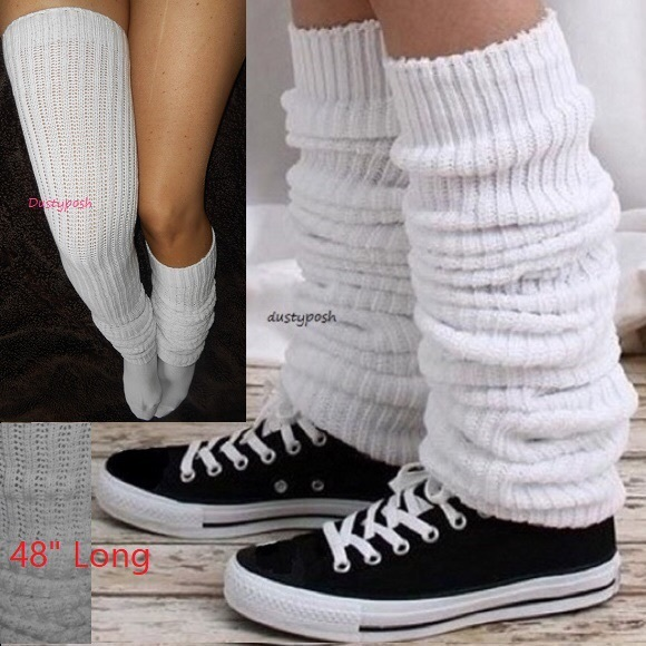 8b66d625d2be5 Dustyposh Accessories | Long Loose Japanese School Socks Thigh High ...