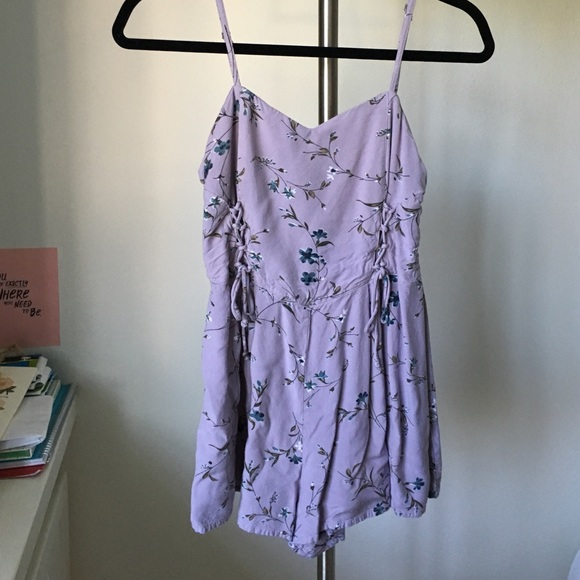 b916fe3345f Kimchi Blue Dresses   Skirts - Urban Outfitters lavender floral romper