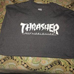 HUF X Thrasher tee