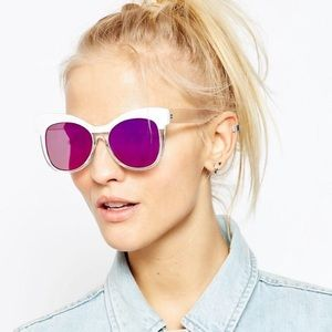 ASOS Accessories - ASOS Retro Cat Eye Sunglasses