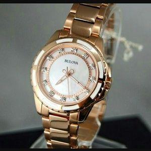 Bulova  Accessories - SALE,NWT Bulova diamond Rose-Gold tone watch