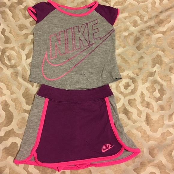 733e2f453f Nike Matching Sets | Toddler Girl Tennisskort Outfit 2t | Poshmark