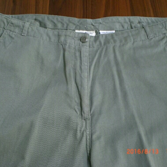 60% off White Stag Pants - sage green white stag capris from ...