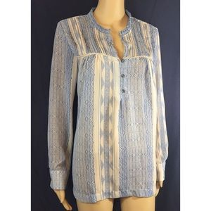 Anthropologie/ Dolan peasant blouse