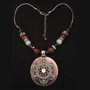 Jewelry - Beaded Necklace with Pendant