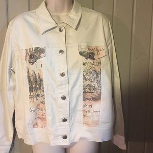 Cactus Jackets & Blazers - Cream wine jacket