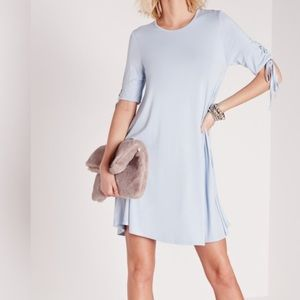 ASOS Dresses & Skirts - Powder Blue Tie Swing Dress