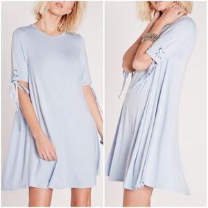 ASOS Dresses & Skirts - Powder Blue Tie Swing Dress