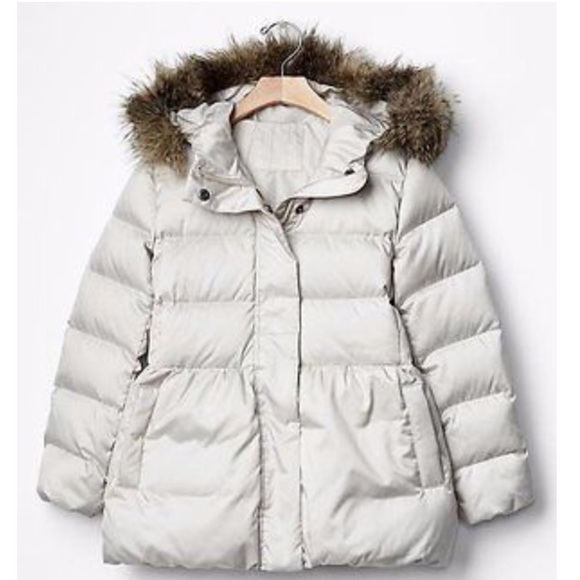 78% off GAP Other - GAP Kids Girls Down Bubble Puffer Jacket. Size ...
