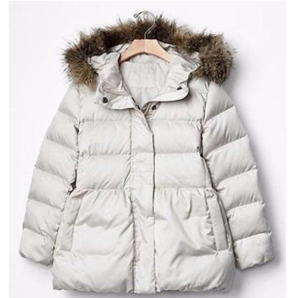 78% off GAP Other - GAP Kids Girls Down Bubble Puffer Jacket. Size ...