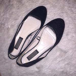 Deena & Ozzy Shoes - Cute black flats