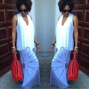 Dresses & Skirts - Tie Dye Maxi Skirt