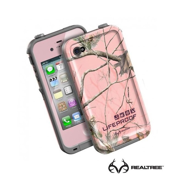 new style 2970e 050f0 Realtree pink camo lifeproof case iPhone 5s or SE NWT