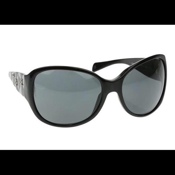 340ca230180b0f CHANEL Accessories | Black Sunglasses Model 5150b | Poshmark