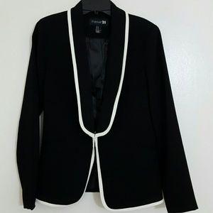 Forever 21 Jackets & Blazers - Forever 21 Black Blazer- NWOT