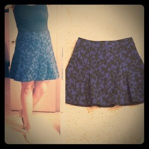 Blue and black Express Skirt Size 12