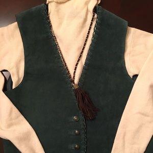 Arizona leather vest