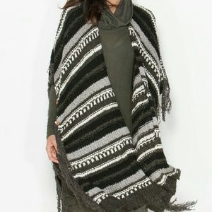 Fall and winter ponchos