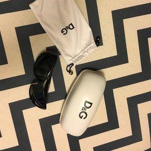 D&G black sunglasses