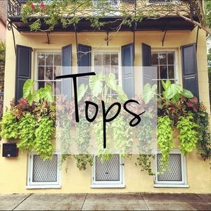 Tops - Blouses, Tanks, Crop Tops