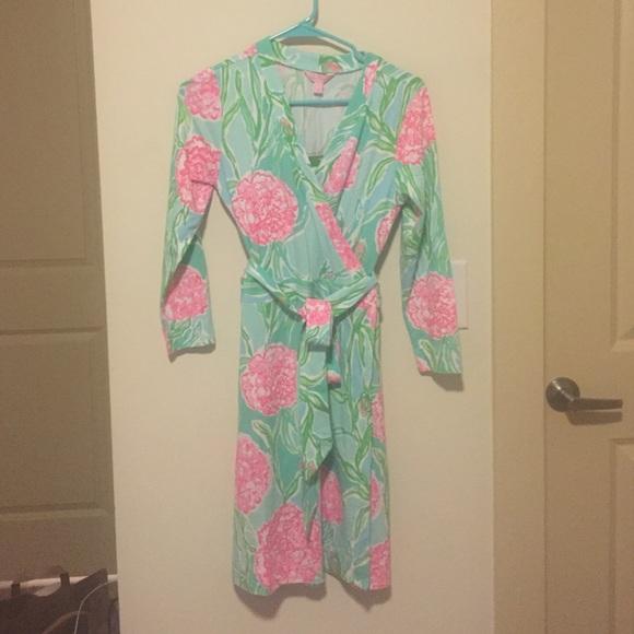 93088507b45e61 Lilly Pulitzer Dresses   Nwt Meridan Wrap Dress   Poshmark