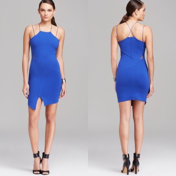 67% off Nasty Gal Dresses &amp Skirts - &quotLucy Paris&39 Tight Blue Dress ...