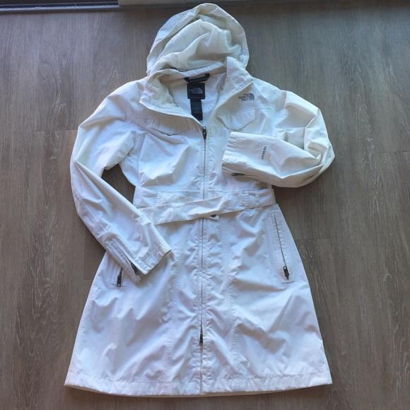 6fb37d7b60c9 North face white trench coat! M 57d4247a4e95a3ecd8003941
