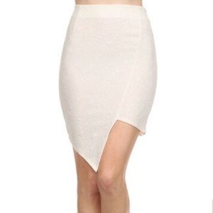 Dresses & Skirts - Asymmetrical Mini Skirt