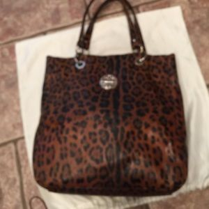 Kate Landry Handbags - Kate Landry leopard print tote