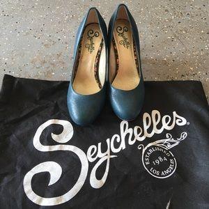 Seychelles Teal Heels
