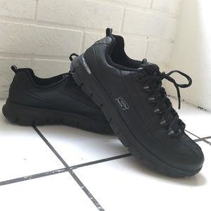 67 skechers shoes sketchers black slip on from
