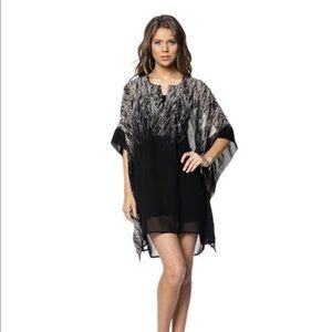 Dresses & Skirts - Embellished Sheer Poncho