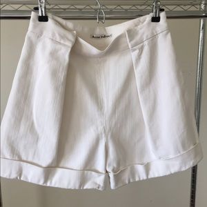 Acne Pants - Acne White Sailor Shorts