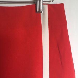 Banana Republic Skirts - Banana Republic red and white pencil skirt 2