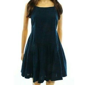 Free People teal flutter shift dress 🎁 sale🎁